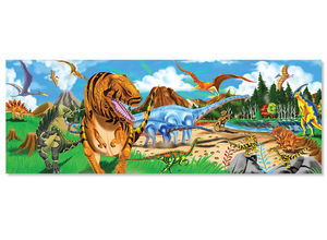 Land of Dinosaurs Floor Puzzle  48 Pieces