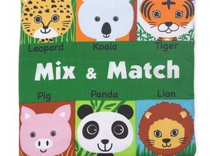Soft Activity Book Mix and Match