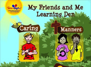 My Friends and Me Learning Den Poster