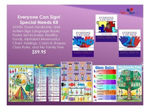Everyone Can Sign Special Needs Kit