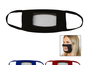 New  Clear mouth anti fog face masks