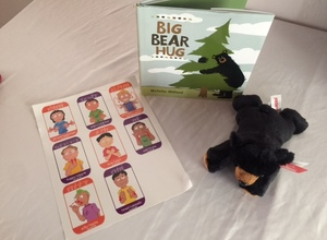 The Big Bear Hug Story and Bear Set