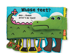 Soft Activity Book Whose Feet
