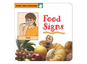 Early Series Food Sign Board Book