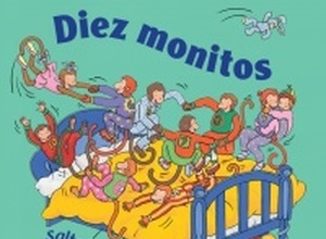 Ten Little Monkeys Spanish Edition Board Book