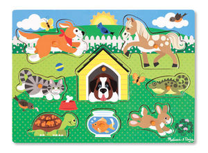 Pets Peg Puzzle 8 Pieces