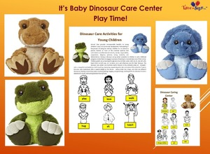 Social Emotional Learning with Baby Dinosaur Care Center Toolkit