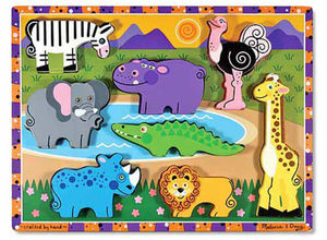 Safari Chunky Puzzle  8 Pieces