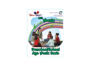 Preschool and School Age Music Book with CD