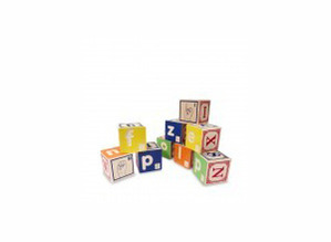 Braille ABC with Sign Language Blocks by Uncle Goose