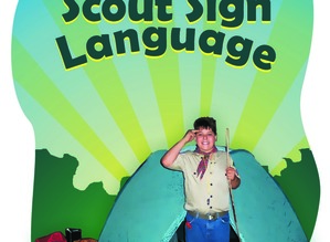 Scout Sign Language Book with DVD