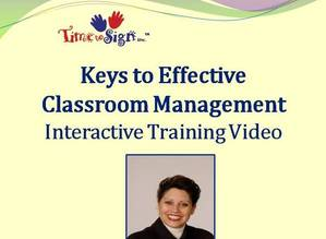 Keys to Effective Classroom Management and Signs Training Video