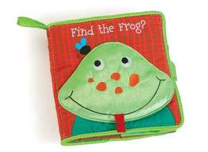 Find the Frog Soft Book