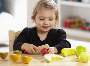 Cutting Wooden Play Food Fruit Set