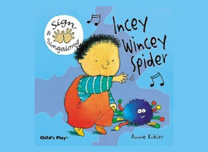 Hands on Song Itsy Bitsy Spider Board Book