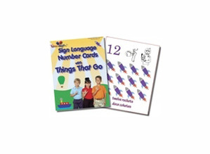 Things That Go Number Sign Language Cards
