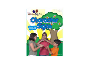 School Age Sign Language Theme Based Curriculum Character Signs Module