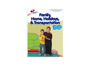 School Age Sign Language Theme Based Curriculum Family Home Holidays and Transporation Module