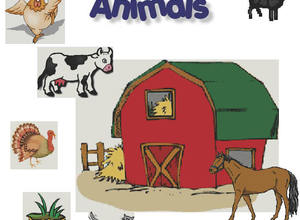 We See Farm Animals Sign Language Story