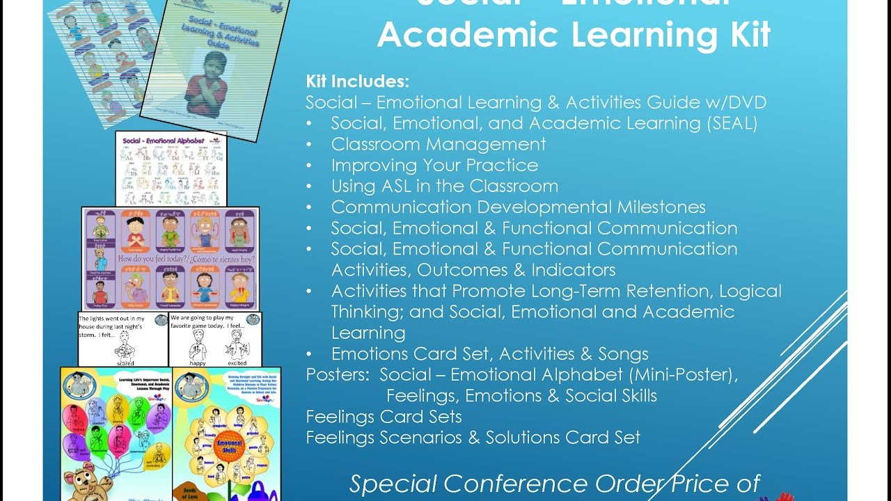 Social Emotional Learning Pays Off >> The Sign Language Education Experts Time To Sign